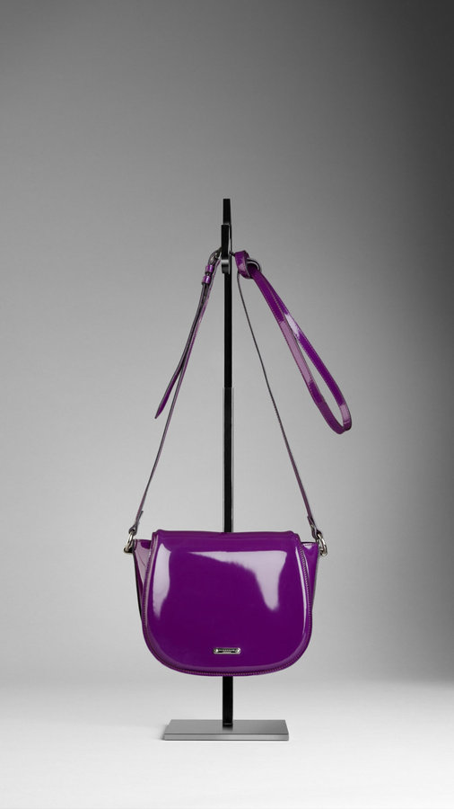Patent Leather Crossbody Bag