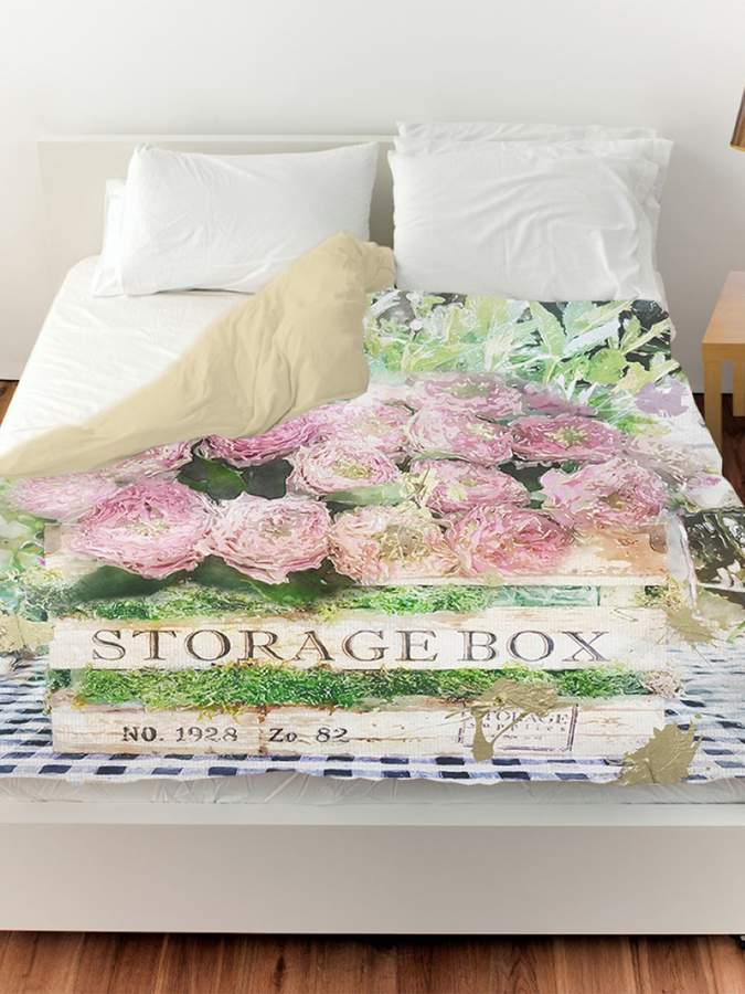 Box of Ranunculus Duvet Cover