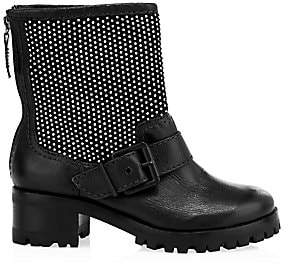Schutz Women's Galena Studded Leather Boots