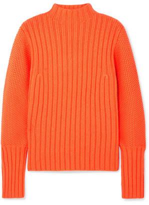 Victoria Beckham Victoria, Wool Turtleneck Sweater - Orange