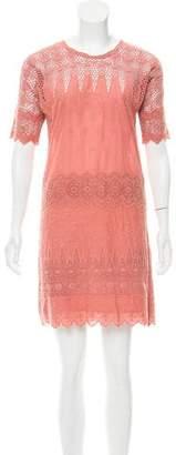 Ulla Johnson Embroidered Mini Dress w/ Tags
