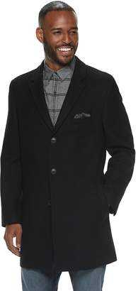 Nick Graham Men's Modern-Fit Wool-Blend Top Coat