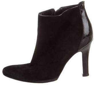 Alexander McQueen Suede Ankle Boots Black Suede Ankle Boots