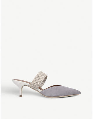 Malone Souliers Maisie leather heel mules
