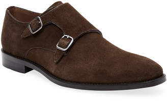 Marco Vittorio Leather Monk-Strap Shoe