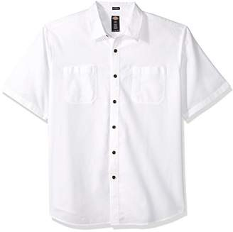 Dickies Men's Relaxed Fit Solid Short Sleeve Shirt