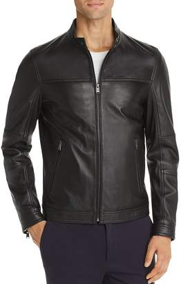 BOSS Nestem Leather Jacket