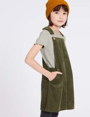 Marks and Spencer 2 Piece Pinafore & T-Shirt Outfit (3-16 Years)