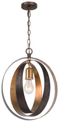 Corrigan Studio Mason 1-Light Globe Pendant