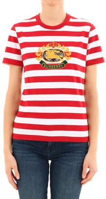 832599cf Womens Red And White Striped T Shirt - ShopStyle UK