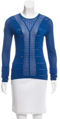 Temperley London Semi Sheer Open Knit Top