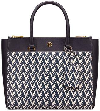 ad1feb0ff Tory Burch ROBINSON PRINTED DOUBLE-ZIP TOTE