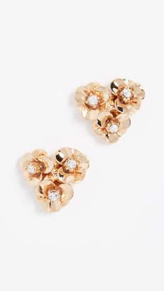 Kate Spade Shine On Flower Cluster Studs Earrings