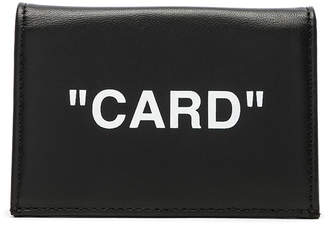 Off-White Off White Small Flap Card Case