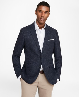 Brooks Brothers Milano Fit BrooksTweed Donegal Sport Coat