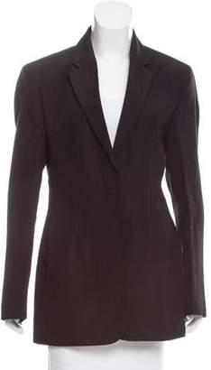 Calvin Klein Collection Tailored Silk-Blend Blazer w/ Tags