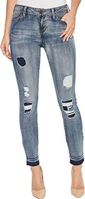 Liverpool Jeans Company Women's Parker Released Hem Ankle Skinny in Vintage Stretch Denim