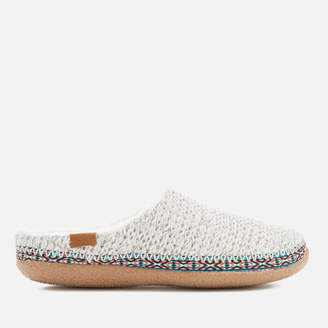 Toms Women's Ivy Sweater Knit Slippers - Birch