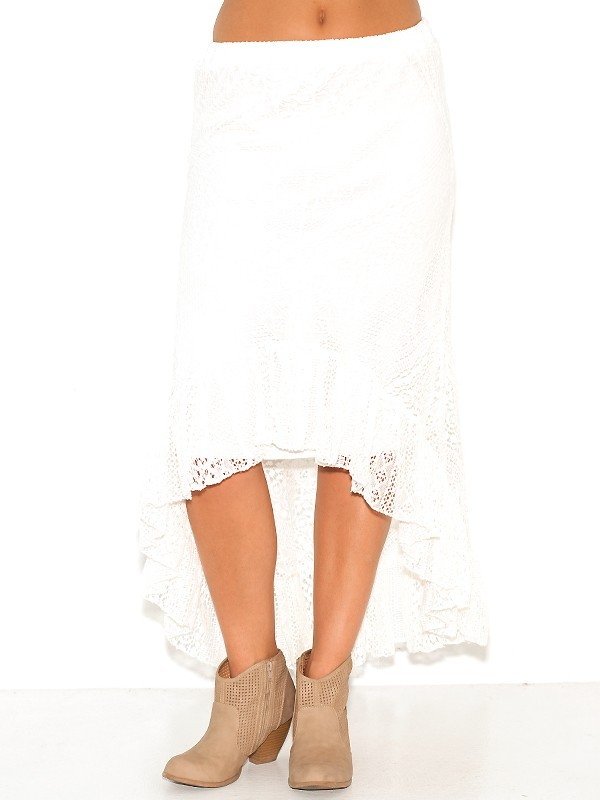 West Coast Wardrobe Pretty in Lace Skirt