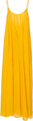 Three Graces London Mabelle Ramie Maxi Dress Size: 8