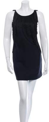 3.1 Phillip Lim Fringed Silk Dress