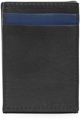 Calvin Klein Leather Credit Card Case
