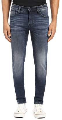 Mavi Jeans James Skinny Fit Jeans in Ink Brushed Authentic Vintage