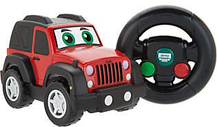 Kid Galaxy My First RC Jeep with Motion Control Remote,Lights & Sounds