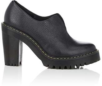 Dr. Martens WOMEN'S CORDELIA LEATHER PLATFORM ANKLE BOOTIES
