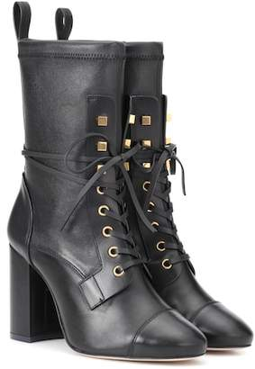 Stuart Weitzman Veruka leather ankle boots