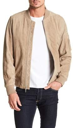 Rag & Bone Manston Suede Dual Zip Jacket