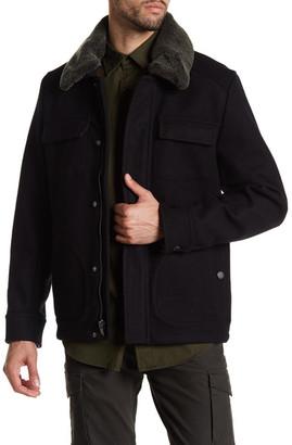 PENDLETON Boulder Genuine Lamb Fur Coat $375 thestylecure.com