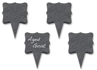 Williams-Sonoma Williams Sonoma Slate Cheese Markers, Set of 4