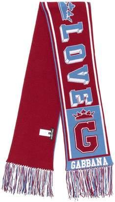 Dolce & Gabbana sports scarf
