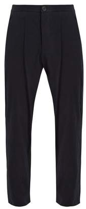 Oliver Spencer Relaxed Fit Drawstring Trousers - Mens - Navy