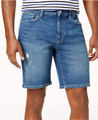 Tommy Hilfiger Men's Classic-Fit Stretch Denim Shorts
