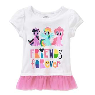 My Little Pony Shirt Toddler Little Girls Friends Forever T-Shirt