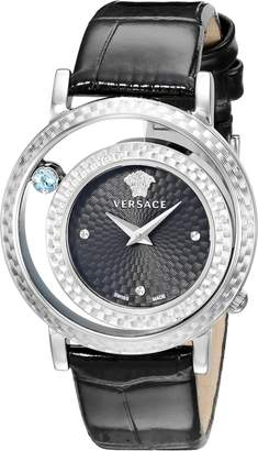 Versace Women's VDA010014 Venus Stainless Steel and Topaz Watch
