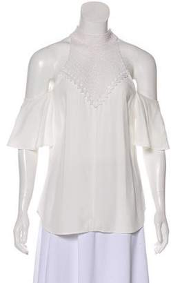 0aa3bb80c81afc Pre-Owned at TheRealReal · A.L.C. Cold-Shoulder Short Sleeve Blouse w  Tags