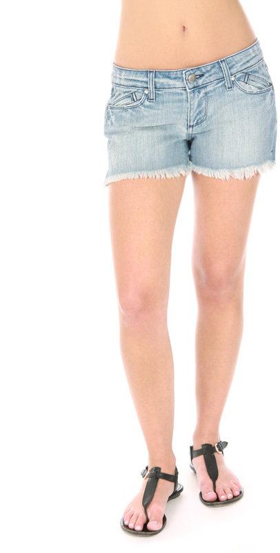 Paige Premium Denim Cut-Off Shorts In Palo Alto