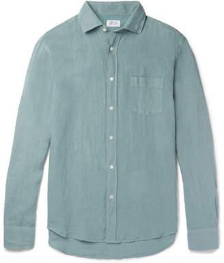 Hartford Paul Slub Linen Shirt