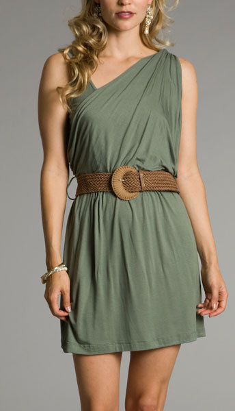 Olive Green Gladiator Dresses