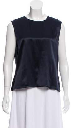 Ellen Tracy Linda Allard Silk Sleeveless Top