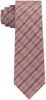 Calvin Klein Men's Infinite Check Skinny Tie