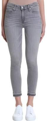 Calvin Klein Jeans Gray Mid Rise Skinny Denim