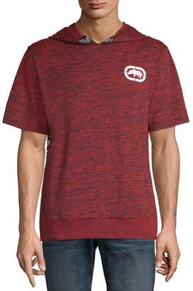 Ecko Unlimited Unltd Mens Hooded Neck Short Sleeve T-Shirt
