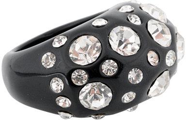 Rhinestone Studded Ring