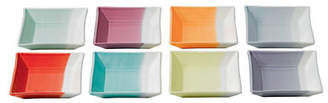 Royal Doulton Set Of 8 1815 Square Trays 4 7In