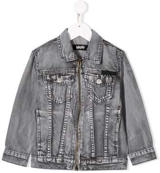 Molo zipped denim jacket
