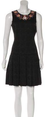Nicole Miller Holiday Petal Embellished Dress w/ Tags